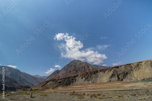 Poster Blauwe jeans Landscape of Leh Ladakh