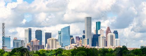 Poster Texas Houston, tx skyline cityscape 2