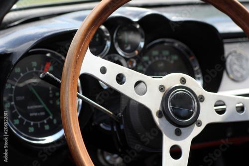 Stickers pour porte Vintage voitures Oldtimer Lenkrad