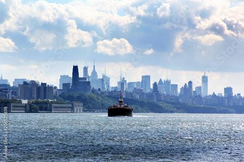Foto op Plexiglas New York City East River