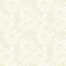 Seamless Pattern With Poppy, P...