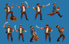 Detailed Pirate Set