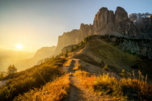 Dolomites, Italy Landscape At ...
