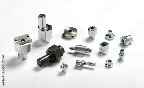 Assorted spare aluminium and iron parts