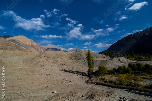 Foto op Plexiglas Nachtblauw Landscape of Leh Ladakh
