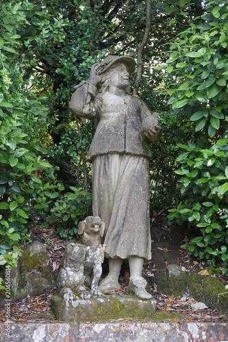Statue Jardin De Boboli Florence Buy This Stock Photo And