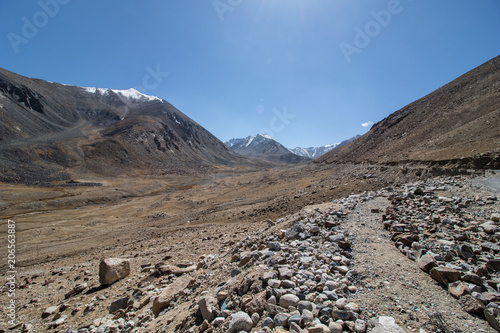 Foto op Canvas Cappuccino Landscape of Leh Ladakh
