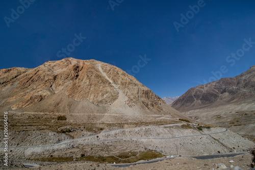 Deurstickers Nachtblauw Landscape of Leh Ladakh