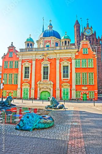 Zdjęcie XXL Kaplica Królewska Króla Polski z Bazyliką Mariacką Gdańsk