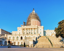United States Capitol At Washington DC
