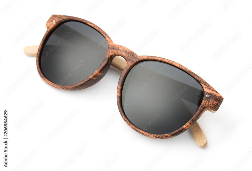 Fototapeta Wooden sunglasses