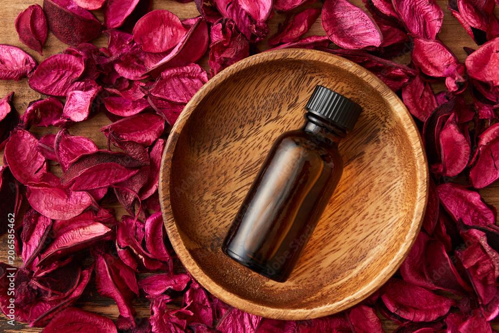 Fototapety, obrazy: ポプリとアロマ瓶のイメージ
