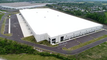 Aerial Photo Of Warehouse And ...