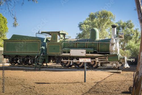 Fotografie, Obraz  The Silverton Picnic Train, Outback, Australia