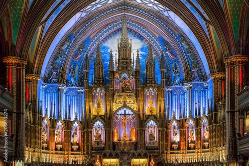 Photo Montreal, Quebec | Notre-Dame Basilica