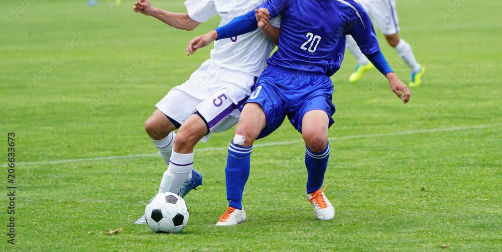 Fototapety, obrazy: サッカー フットボール