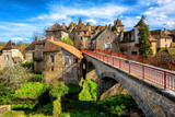 Carennac Old Town, Lot, France