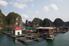 Halong Bay, Vietnam - March 8,...