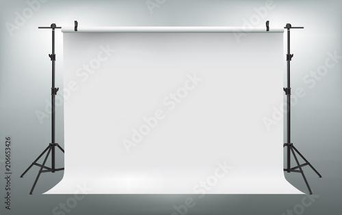 Obraz Studio Backdrop. Vector illustration - fototapety do salonu