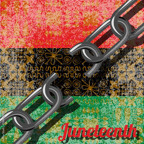 Juneteenth, Freedom Day Canvas Print