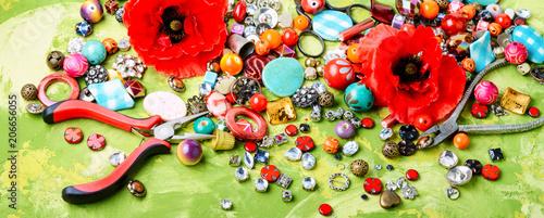 Plakaty do antyram, ramek lub samoprzylepne beads-and-poppy