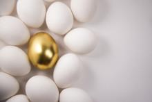 White Eggs And Golden Egg