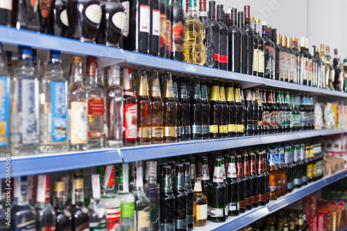 Fotobehang Bar Image of alcohol drink
