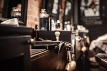 Tools Of Barber Shop