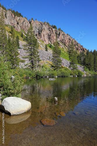 Valokuva  The calm shallow Lake