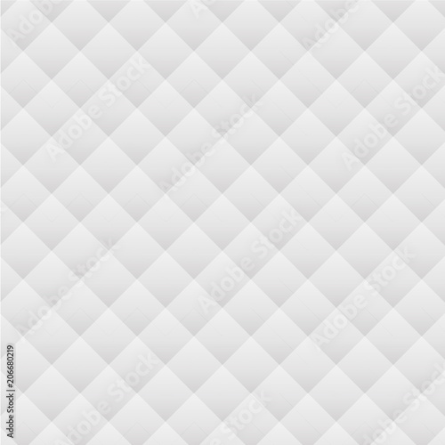 Fotografía  Abstract of soft white pattern sofa surface background, illustration vector eps1