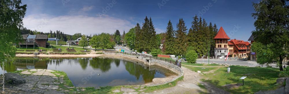 Fototapety, obrazy: Szklarska Poręba - Ski Arena - Amfiteatr - Panorama