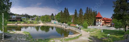 Fototapeta Szklarska Poręba - Ski Arena - Amfiteatr - Panorama obraz
