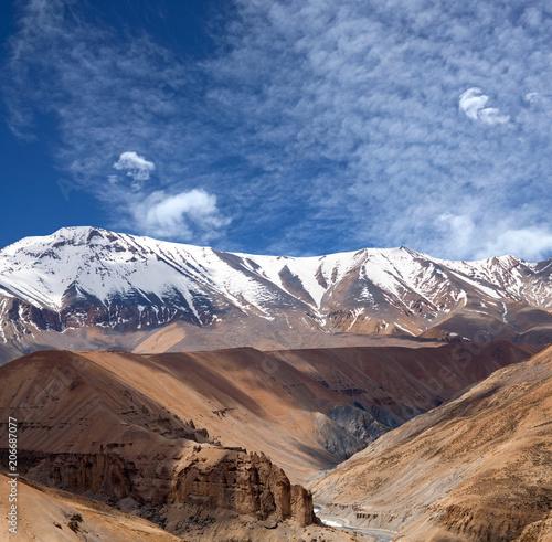 Foto op Plexiglas Bergen Himalaya mountain landscape in Ladakh, Jammu and Kashmir, North India