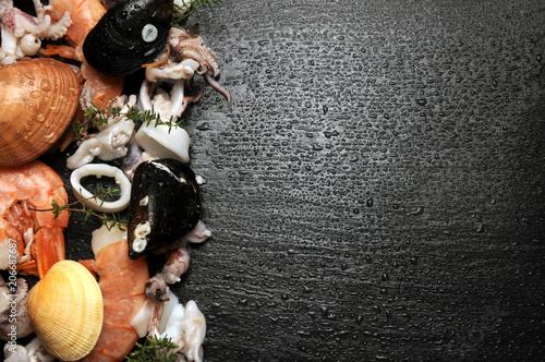 Foto op Plexiglas Schaaldieren Động vật có vỏ Fruto do mar Marisco Shellfish Frutti di mare vernis Fruit de mer Fasolare Schalentier بكلويز Marisc حلزون صدفدار Callista Smooth clam chione