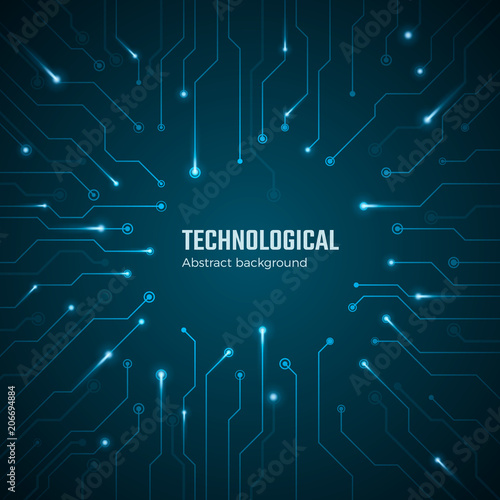 technological background blue circuit board concept circuit scheme rh stock adobe com
