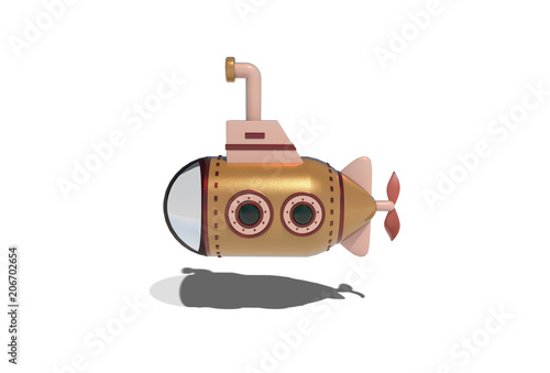 Fotografie, Obraz  submarino