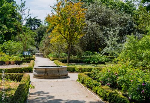 Photo sur Plexiglas Zen pierres a sable Madrid