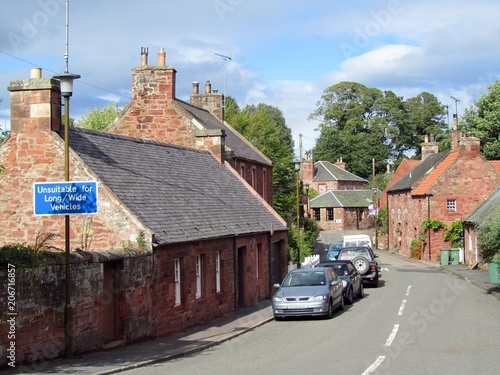 Garvald, East Lothian, Scotland. - Buy this stock photo and ...