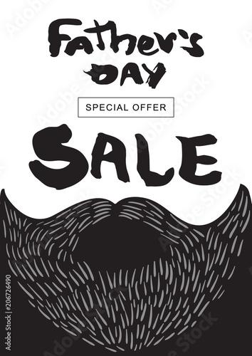 sprzedaz-happy-father-39-s-day-wektor-napis-dla-karty-rabatowej-szablon-zaku
