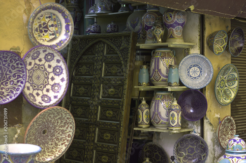 Valokuva  Crafts in the souk