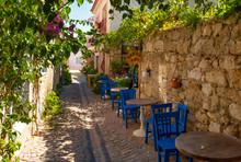 Turkish Village Of Alacati