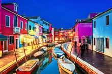 The Colorful Burano Island At ...