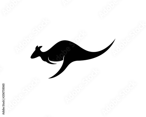 kangaroo logo template buy this stock vector and explore similar