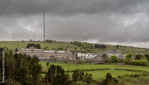 Fotografia, Obraz Dartmoor prison at Princetown in Devon