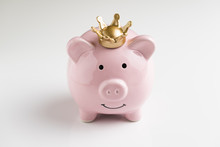 King Of Money Savings Concept,...