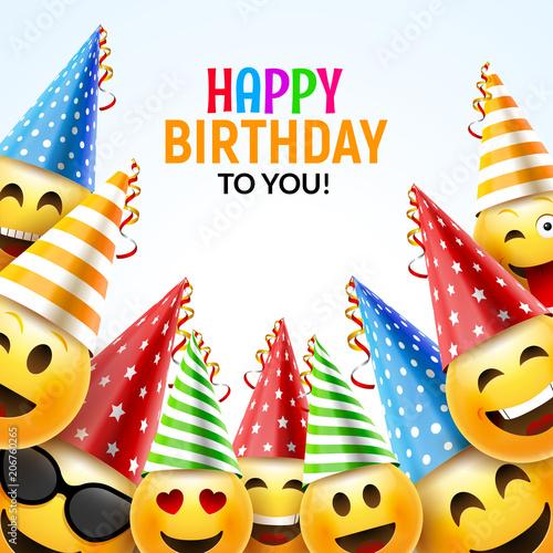 Photo  Birthday happy smile greeting card