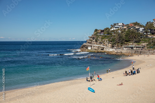 Bronte Beach, which is is located 7 kilometres east of the Sydney central business district Wallpaper Mural