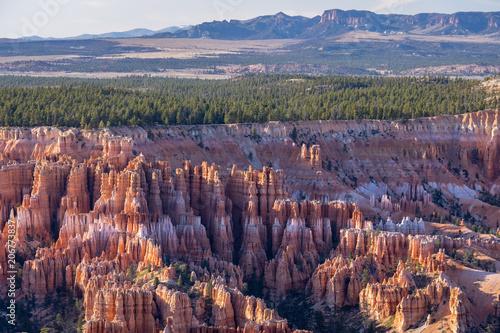 Fotobehang Natuur Park Bryce Canyon National Park, Utah USA