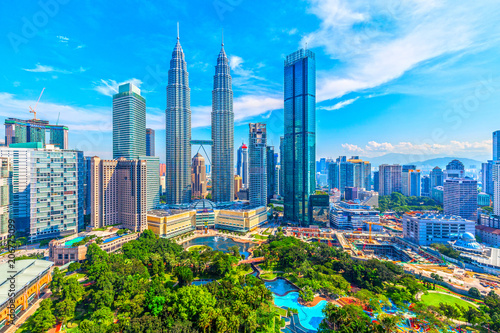 Photo  マレーシア クアラルンプールの街並み