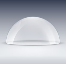 Glass Dome Container Mock-up. ...